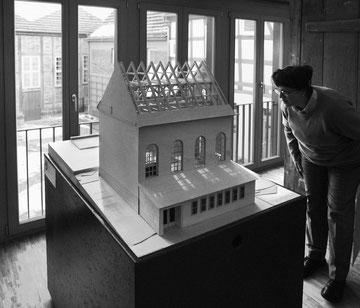 Modell der Synagoge von Plau am See - Foto: Thomas Helms, Schwerin