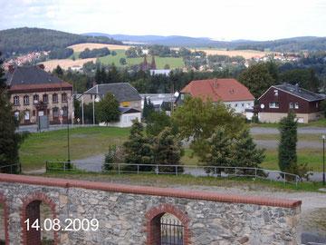 Blick auf Neugersdorf vom Eiskellerberg
