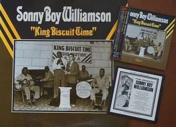 "Sonny Boy Williamson ""King Biscuit Time"" LP&CD"