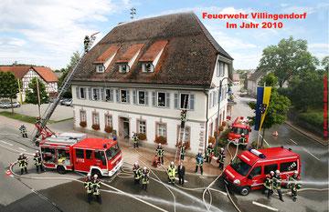 Gruppenbild Feuerwehr Villingendorf