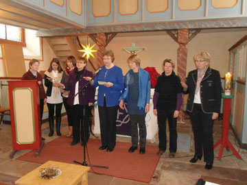 Themen-Gottesdienst der Frauen im Advent 2012.  (Foto: Philipp)