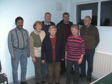 Einige der Gründungsmitglieder im Jahre 2007