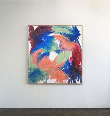 Sans titre n°11, dim. 102 cm x 93 cm, 2021