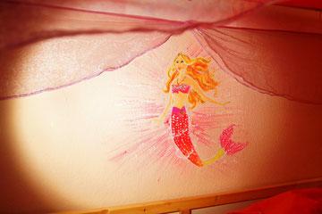 Eine Meeresnixe für die kleine Prinzessin