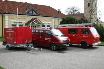 Unsere Einsatzfahrzeuge