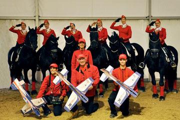 Ein tolles Team, ein super Auftritt - schöne gemeinsame Tage auf der diesjährigen Apropos Pferd 2012