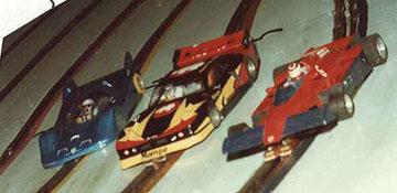Slot cars de Serge Lambert à Bordeaux 1982