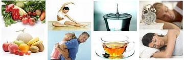 4つのゴールデンルールとは、栄養・運動・水分・睡眠です!