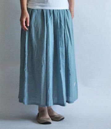 ヂェン先生の日常着 羽衣ギャザースカート