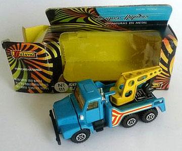 111 Camión Volvo grúa