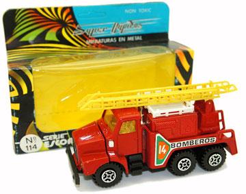 114 Camión Volvo bomberos