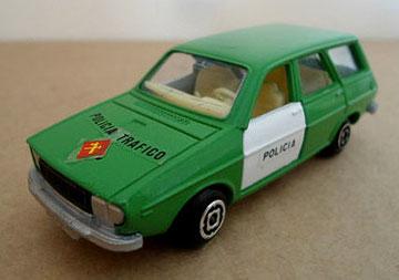 27 Renault 12 TS policía tráfico (años posteriores)