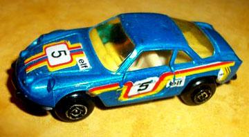 28 Renault Alpine rallye
