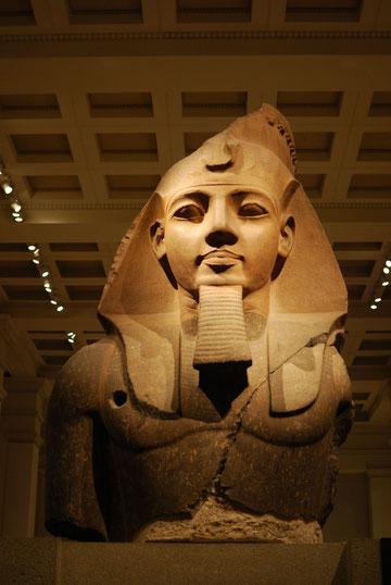 Ramsés II, del segundo patio del Ramesseum de Tebas, h.1250 a.C.