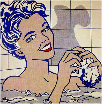 'Woman in bath', de Roy Lichtenstein