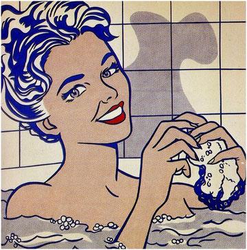 'Woman in bath', de Roy Lichtenstein
