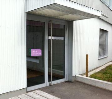 Eingang zum SiLo vom Innenhof her