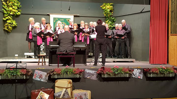 Die Sängerfreunde Leerstetten auf dem Sängertag 2018
