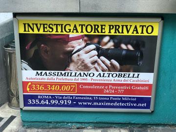 Agenzia Investigativa a Roma