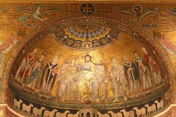 Mosaico in Santa Maria in Trastevere