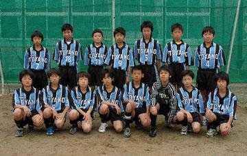 平成19年度卒団生 クラブ5期生 12名