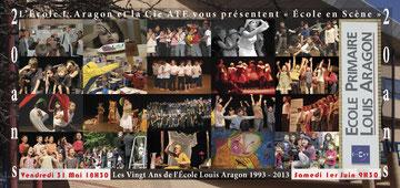 2013 : les 20 ans d'implantation à Aragon !