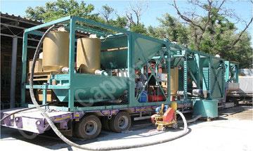 Передвижной  завод-автомат производительностью 10 кубометров  в  час (1 средний коттедж  в день)