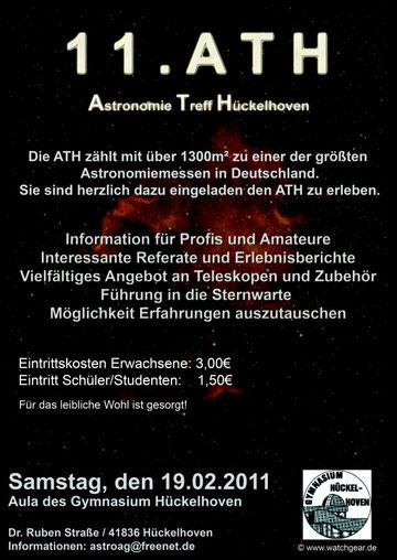 Plakat ATH 2011