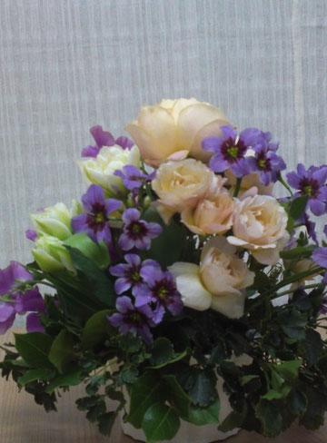 1月の生花 チアフルコース