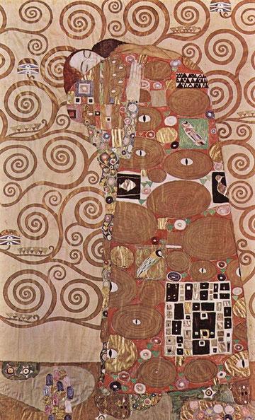 "Klimt, ""l'Abbraccio"""