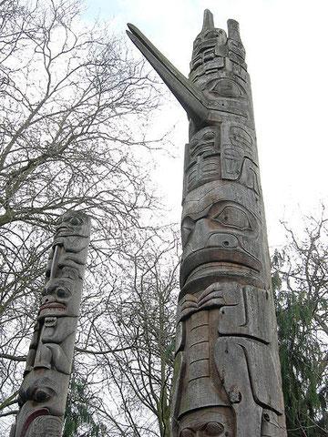 Totempfähle der Tsimshian