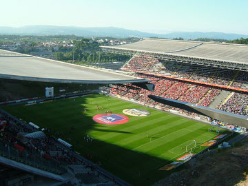 Estadio Axa, Braga, Portugal
