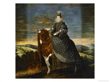 MARGUERITE D'AUTRICHE (Velasquez)