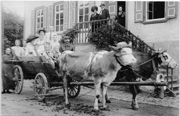 Die Schule in den Anfangsjahren des 20. Jh.