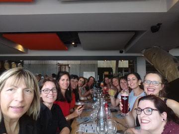 """Repas de fin d'année au restaurant """"La Base"""" de Brest avec les pratiquantes de la Gym Dansée au Relecq-Kerhuon le 25 juin 2019"""