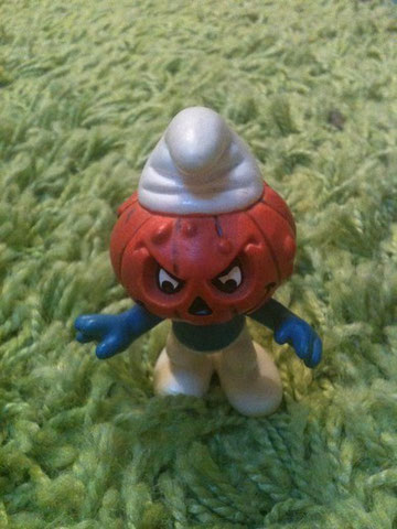 Schtroumpfs halloween