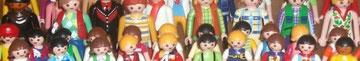 Collection de playmobil de ma fille Camille