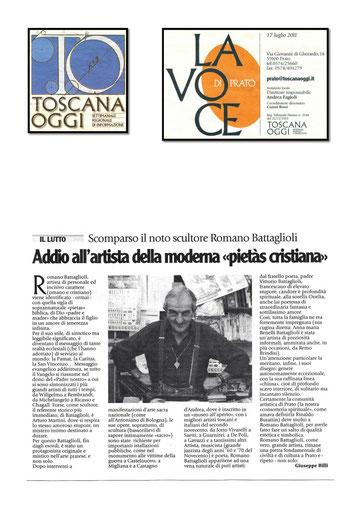 Toscana Oggi - La Voce, 17 Luglio 2011