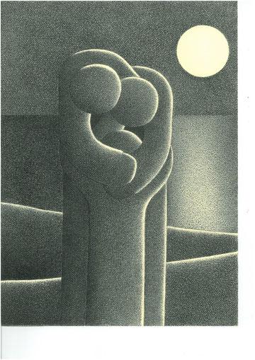 Romano Battaglioli, Maternità, China, 1997