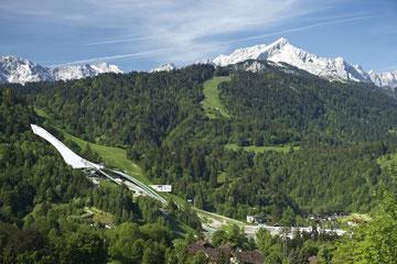 Garmisch-Partenkirchen im Frühjahr