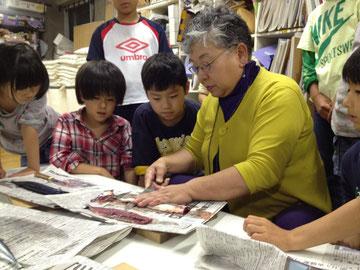 震災母子の為に週1回ワークショップを開催