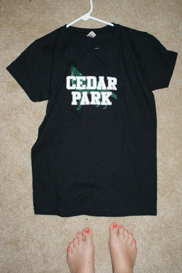 Cedar Park High School! Mit dem Timberwolves! :-)
