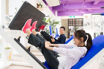 【レッグプレス】脚・臀部のトレーニング