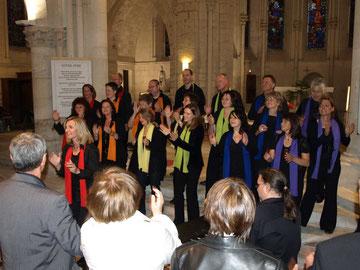"""Le chœur Gospel de DANNSTADT-ASSENHEIM """"Coloured Voices"""" nous a encore fait vivre des moments inoubliables..."""