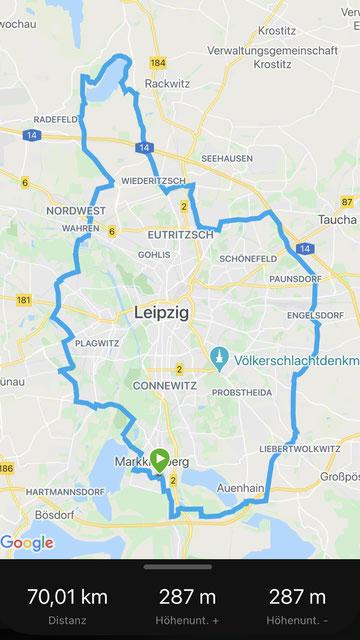 """Pauls """"Tour de Leipzig"""""""