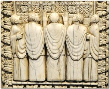 Blog Scola Metensis-Chantres-plaque d'ivoire-Francfort