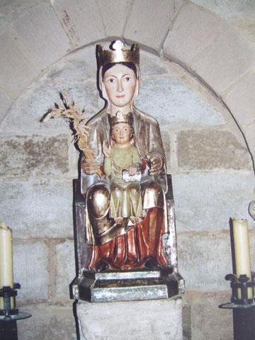 Maria in der Kirche von Eunate