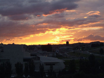 Sonnenaufgang über Ávila