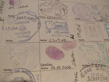 algunos sellos...