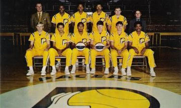 The 1969-'70 Indiana Pacers ABA Champions